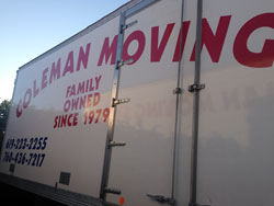 Coleman Moving in San Diego